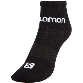 Salomon Evasion Chaussettes Pack de 2, black/white